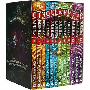 Cirque Du Freak 12 Books Paperback Box Set by Darren Shan New & Sealed