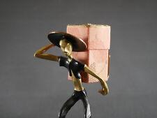 Messing Figur Rena Rosenthal für Hagenauer
