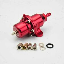 FOR 92-01 PRELUDE ADJUSTABLE BOLT-ON FUEL PRESSURE REGULATOR OEM REPLACEMENT RED