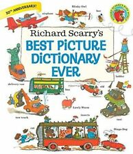 Richard Scarry's Best Picture Dictionary Ever by Richard Scarry (Hardback, 2016)