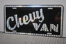 RETRO 1970'S PRISM CHEVY VAN METAL LICENSE PLATE 70'S CUSTOM SHAG STREET MACHINE