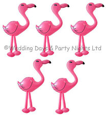 5 x 2ft Inflatable Pink Flamingo Birds Hawaiian Tropical Pool Party Decorations