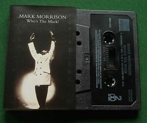 Mark Morrison Who's The Mack 2 Mixes Cassette Tape Single - TESTED