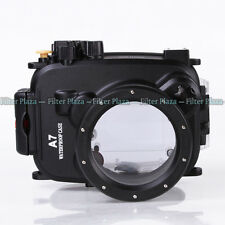40M Waterproof Underwater Camera Housing Case for Sony A7 A7R A7S & 28-70mm Lens