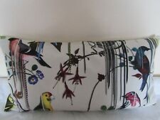 Designers Guild&Christian Lacroix Fabric Birds Sinfonia Jonc Cushion Cover