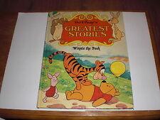 Walt Disney Greatest Stories Winnie the Pooh. St Michael. Purnell 1976. VGC.