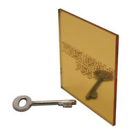 Acrylic Perspex Gold Mirror Sheet Plastic Panel Material A5, A4 & A3 3mm Thick