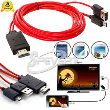 MHL Micro USB to HDMI HD TV Adapter Cable For Samsung Galaxy S3 S4 S5 Note 2 3 4
