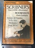Theodore Roosevelt Scribner's Magazine Roosevelts Letters No 5 1919