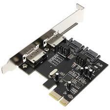 PCI-E PCI Express To SATA 3.0 6Gbps Esata SATA III 2 Ports Card Adapter ASM1061