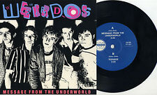 """Weirdos -Message From The Underworld 7"""" L.A. Punk Dickies Germs Bags Simpletones"""