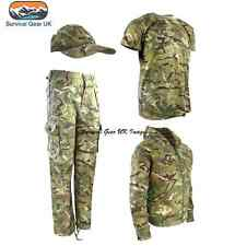 KIDS CHILDREN'S BTP ARMY OUTFIT CAMO TROUSERS HOODIE T-SHIRT CAP SOLDIER GIFT