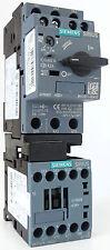 Siemens 3rv2011-0ga10 motor disyuntor 0,45-0,63a 3rt2015-1bb41 3rv2901-1e