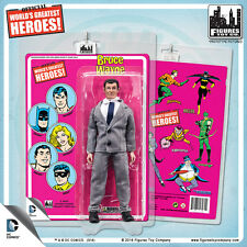 DC Comics Batman Bruce Wayne 8 inch Action Figure on Mego Style Retro Card