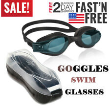 Adult Clear Comfortable Swimming Goggles with UV- Anti-Fog Swim Glasses US Ship