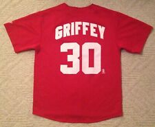 Ken Griffey Jr. Cincinnati Reds Mlb Baseball Logo Athletic Sports Jersey Adult L