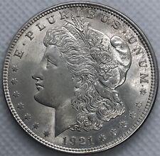 1921 Morgan 90% Silver Dollar US Ungraded Coin Circulated