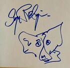 BLUE DOG:  George Rodrigue  Orig. Drawing Sketch Signed