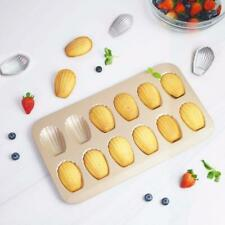 12Cup Nonstick Madeleine Pan Shell Shaped Carbon Steel Mold Baking Mould Tools