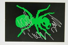 THE PRODIGY OFFICIAL PROMO CARD AUTOGRAPHED KEITH FLINT LIAM HOWLETT MAXIM