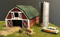 N Scale Barn Craftsman Kit