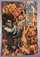 LOBO BLAZING CHAIN OF LOVE #1~1992~HAND-SIGNED BY COVER ARTIST DAN BRERETON~