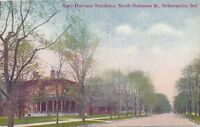 INDIANAPOLIS IN – President Benjamin Harrison Residence (North Delaware Street)