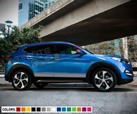 Sticker Decal for Hyundai Tucson xenon side front light tail mirror bumper