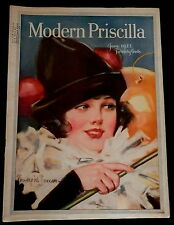 Modern Priscilla Magazine June 1923 NEEDLEWORK - FASHIONS - CRAFTS - HOMEMAKING