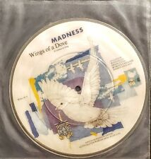 """Madness –Picture Disc Wings Of A Dove 7"""" Single - """" NEW """""""