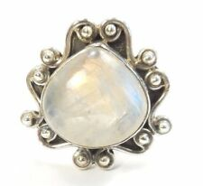 Mother's Day Moonstone Sterling Silver Fine Rings