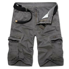 Mens Military Army Cargo Shorts Combat Tactical Pants Casual Sports Gym Trousers