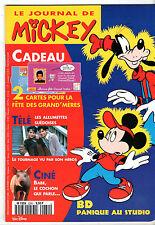 LE JOURNAL DE MICKEY n°2280 ¤ 1996 ¤ + CADEAU 2 CARTES BONNE FETE GRAND-MERE