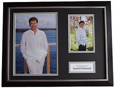 Daniel O'Donnell Signed FRAMED Photo Autograph 16x12 display Music AFTAL COA