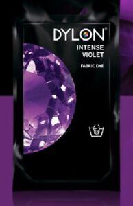 DYLON Fabric Dye - Deep Violet  - 50 gram,Intense Colour- Purple dye