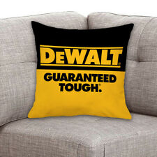 Best-Dewalt-Guaranteed-Tough Decorative Zippered Throw Cushion Pillow Case