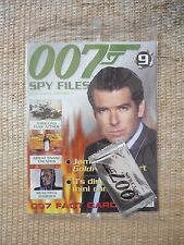 James Bond 007 Spy Files Magazine Issue No: 9 New & unopened with cards