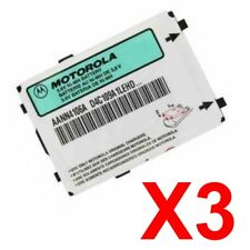 Lot Of 3 Oem Motorola Aann4106A Battery For T192 T193