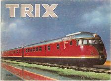 Catalogo Trix Treni elettrici 1965 in francese