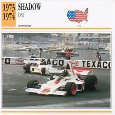 1973-1974 SHADOW DN1 Racing Classic Car Photo/Info Maxi Card
