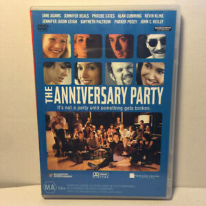 The Anniversary Party  (DVD, 2001) Region 4 PAL