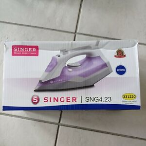 Singer SNG4.23 Corded Steam Iron 2200W purple