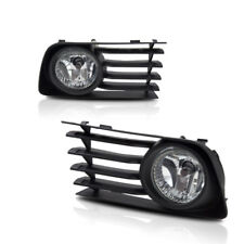 For 2006-2009 Toyota Prius Clear Lens Chrome Housing Replacement Fog Lights Lamp