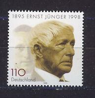 ALEMANIA/RFA WEST GERMANY 1998 MNH SC.2002 Ernst Jünger,writer