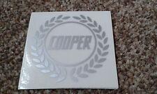 CLASSIC ROVER MINI JOHN COOPER 500 S WORKS MPI SMALL LAUREL STICKER DECAL RARE