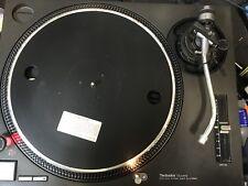 Technics SL1210MK2 Black DJ TURNTABLE Perfect W/ New RCA Cable + Internal Ground