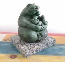 """After Francisco Toledo Messingskulptur """" Frosch """" Unterzeichnet Und Nummeriert"""