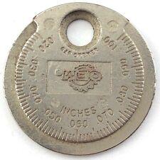 Vintage Sparkplug Gap Tool OEM Gap Opener Q470