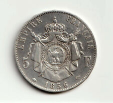 5 francs 1856 A Napoléon III tête nue (n4) -  F.330/6 / KM 782.1 - TTB++/pr.SUP