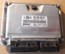 VW Golf 4 1.9 TDI Motorsteuergerät 038906019AT 0281010974 Bosch /S0722